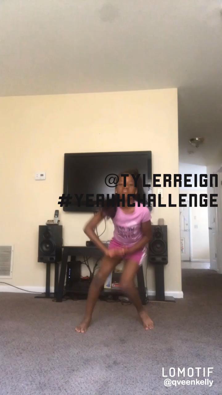 @tylerreign #yeahhhchallenge #dancevibes - @queenperiodtt1